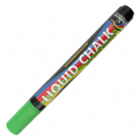 Green Rainbow Chalk 5mm Chisel Nib Liquid Chalk Marker
